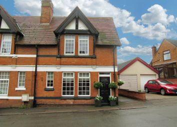 Thumbnail 2 bed semi-detached house for sale in Chapel Street, Enderby, Leicester