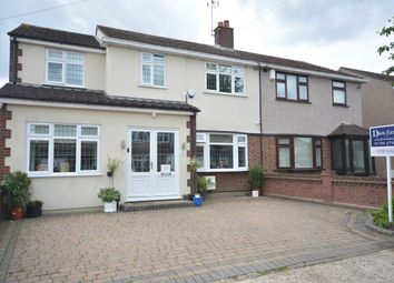 Thumbnail 4 bed semi-detached house for sale in Hubbards Close, Hornchurch