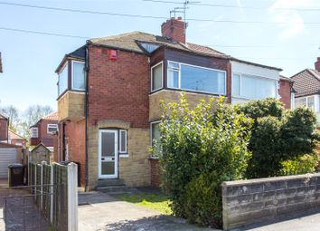 Thumbnail 3 bed semi-detached house to rent in Grange Park Grove, Leeds, North Yorkshire