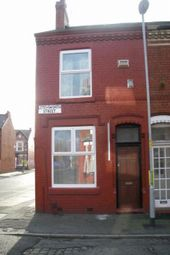 Thumbnail 3 bedroom end terrace house to rent in Letchworth Street, Manchester