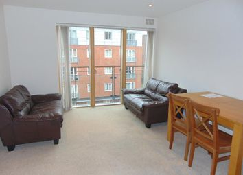 Thumbnail 2 bed flat to rent in Canal Wharf, Waterfront Walk