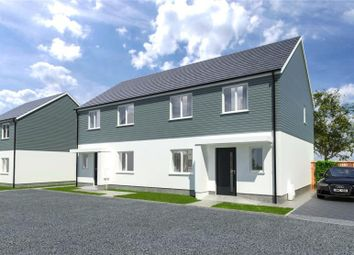 Thumbnail 3 bed semi-detached house for sale in Prasow Pyski, Playing Place, Truro, Cornwall