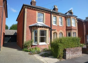 Thumbnail 4 bed semi-detached house to rent in Beaconsfield Road, Basingstoke