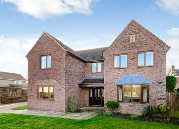 Thumbnail 4 bed detached house for sale in Century Lane, Saxilby, Lincoln