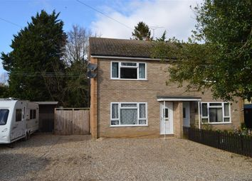 Thumbnail 3 bedroom semi-detached house for sale in Crowhall Farm House, Gooderstone, King's Lynn