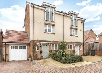 Thumbnail 3 bed semi-detached house for sale in Braham Crescent, Leavesden, Watford