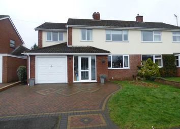 Thumbnail 5 bed semi-detached house for sale in Newton Road, Duston, Northampton, Northamptonshire