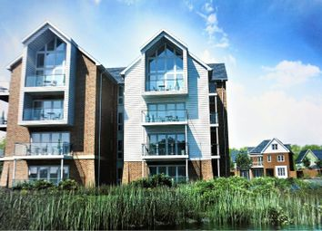 Thumbnail 2 bed flat for sale in Willow Close, Holborogh Lakes