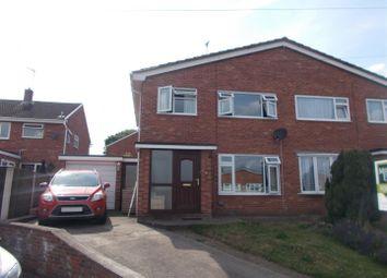 Thumbnail 4 bed semi-detached house for sale in Maple Drive, Heath Farm, Shrewsbury