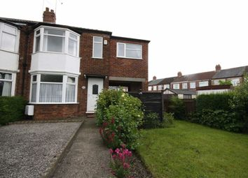 Thumbnail 3 bedroom terraced house to rent in County Road South, Hull