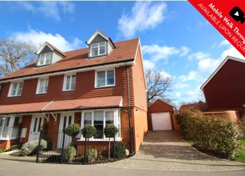 Thumbnail 3 bed semi-detached house for sale in Parsons Way, Tongham, Farnham, Surrey