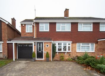 Thumbnail 4 bedroom semi-detached house for sale in Bunhill Close, Dunstable