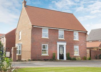 "Thumbnail 4 bed detached house for sale in ""Cornell"" at Station Road, Langford, Biggleswade"