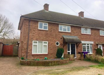 Thumbnail 3 bed end terrace house for sale in Maycroft, Letchworth Garden City, Hertfordshire