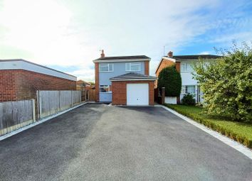 Thumbnail 3 bed detached house for sale in Mile Barn Road, Wrexham