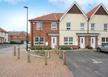 Thumbnail 3 bed end terrace house for sale in Puttick Drive, Worthing, West Sussex