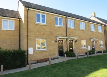 Thumbnail 3 bed terraced house for sale in Creed Road, Oundle, Peterborough