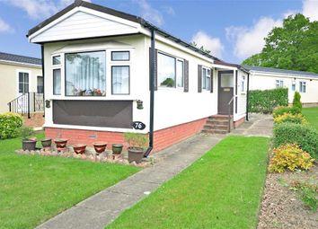 Thumbnail 1 bed mobile/park home for sale in Towngate Wood Park, Tonbridge, Kent