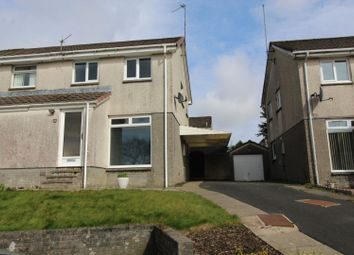 Thumbnail 2 bed semi-detached house for sale in Bute Road, Cumnock