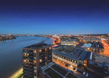 Thumbnail 4 bed flat for sale in Waterfront III, Royal Arsenal Riverside