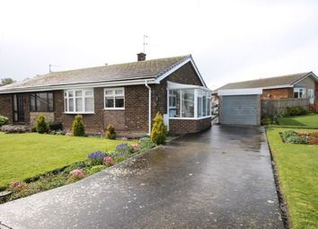 Thumbnail 2 bed semi-detached bungalow for sale in Harborough Close, Hunmanby, Filey