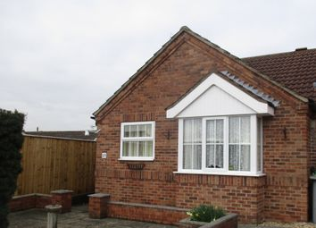 Thumbnail 1 bed terraced bungalow to rent in Ravensmoor Close, North Hykeham, Lincoln