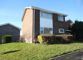 Thumbnail 3 bed detached house for sale in Ffordd Angharad, Llanfairpwllgwyngyll