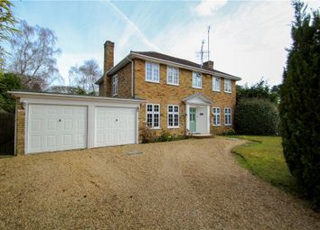 Thumbnail 4 bedroom detached house for sale in Alison Drive, Camberley, Surrey
