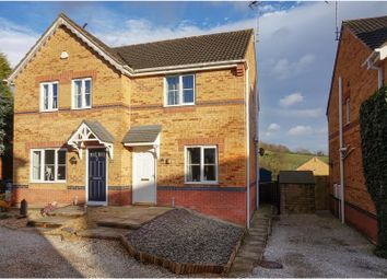 Thumbnail 2 bed semi-detached house for sale in Mercia Court, Huthwaite