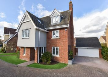 Thumbnail 6 bed detached house for sale in Willow Road, Dunmow
