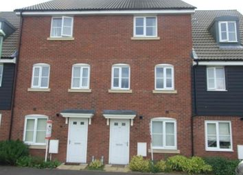 Thumbnail 4 bed terraced house for sale in Red Lodge, Bury St. Edmunds, Suffolk