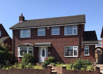 Thumbnail 4 bed detached house for sale in Coed Onn Road, Fint, Flintshire