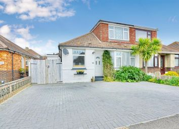 Thumbnail 4 bed semi-detached bungalow for sale in Fairfield Close, Shoreham-By-Sea