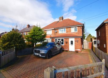 Thumbnail 3 bed semi-detached house for sale in Fen Lane, Dunston, Lincoln