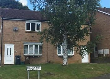 Thumbnail 2 bed flat to rent in Obelisk Rise, Kingsthorpe, Northampton