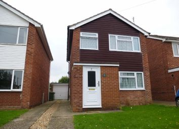 Thumbnail 3 bed detached house to rent in Coppins Close, Sawtry, Huntingdon
