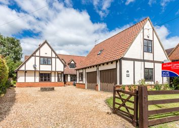 Thumbnail 5 bed detached house for sale in High Street, Riseley, Bedford