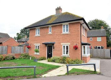 Thumbnail 4 bed detached house for sale in John Clare Close, Oakham