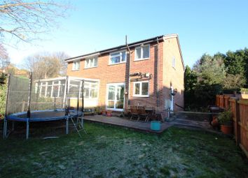 Thumbnail 3 bed semi-detached house for sale in Cross Hills Drive, Kippax, Leeds