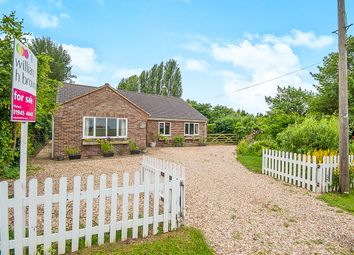 Thumbnail 5 bedroom detached bungalow for sale in Parson Drove Lane, Leverington, Wisbech