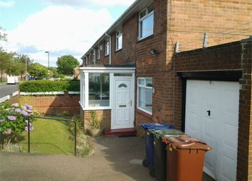 Thumbnail 3 bed end terrace house for sale in Burwell Avenue, Denton Burn, Newcastle Upon Tyne, Tyne And Wear