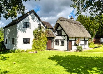 Thumbnail 4 bed cottage for sale in Perry Mill Lane, Ullenhall, Henley-In-Arden, Warwickshire