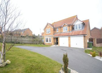 Thumbnail 5 bedroom detached house for sale in Staithes Court, Seaham