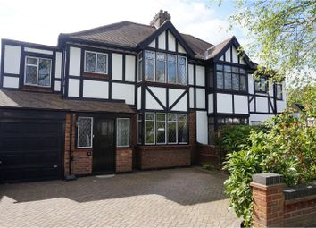 Thumbnail 4 bed semi-detached house for sale in Park Drive, Upminster