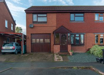 Thumbnail 4 bed semi-detached house for sale in The Hawthorns, Brockton, Shrewsbury
