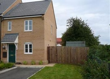 Thumbnail 2 bed end terrace house to rent in Meridian Close, Hardwick, Cambridge