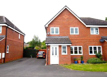 Thumbnail 3 bed semi-detached house for sale in Alyn Road, Gwersyllt, Wrexham