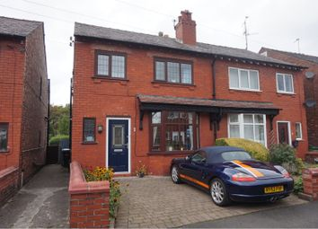 Thumbnail 3 bed semi-detached house for sale in Norman Avenue, Stockport