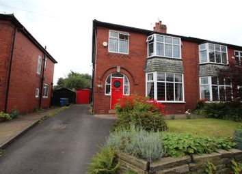 Thumbnail 3 bed semi-detached house for sale in Moorgate Avenue, Bamford, Rochdale, Greater Manchester