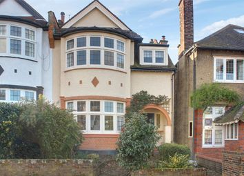 Thumbnail 5 bed semi-detached house for sale in Elgin Road, Muswell Hill Borders, London